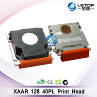 liyu/wit-color/myjet printer spare parts xaar 128 print head 40pl for outdoor printers