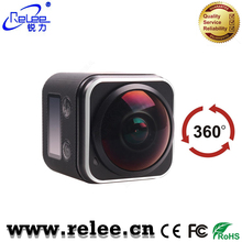 2017 New Ultra HD Video 360 Degree Sports action Cam 1080p wifi Action camera