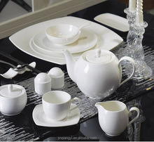 LT series china tableware sets white ceramic porcelain plates factory chaozhou kitchen wares