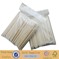 Cosmetic wooden dowels wooden cuticle sticks