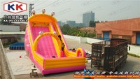 Hello Cat Paradise inflatable dry slide / inflatable fun city