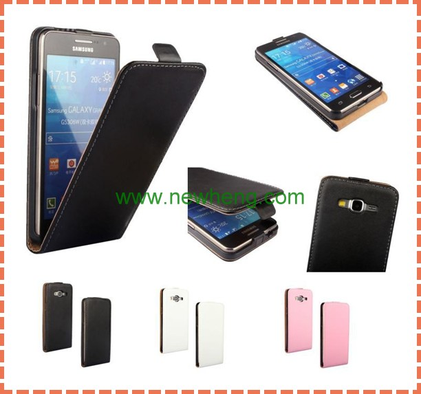 Wallet Style Magnetic Flip Stand PC+ PU Leather Case for Samsung Galaxy Grand Prime G530 G5308