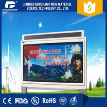 Low power consumption custom outdoor led business signs advertising light box modular led strip lighting with low price