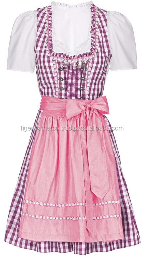 2015 High Quality Trachten Dirndl for Octoberfest Event Germany,Austria,Holland