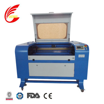 SH-G690 laser machine to engrave cut wooden box