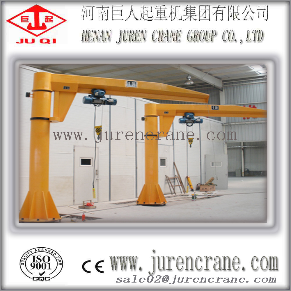 BZD Floor Mounted Rotate Jib Crane for sale