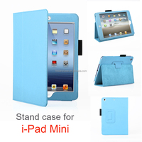 Danycase stand leather case for ipad mini New coming