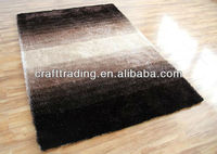 New Style Gradient Color Shaggy Carpets And Rugs