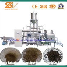 With CE,SGS certificate Equipment for pet Food Fish Feed Floating Pellets Fish Feed Extruder Machine