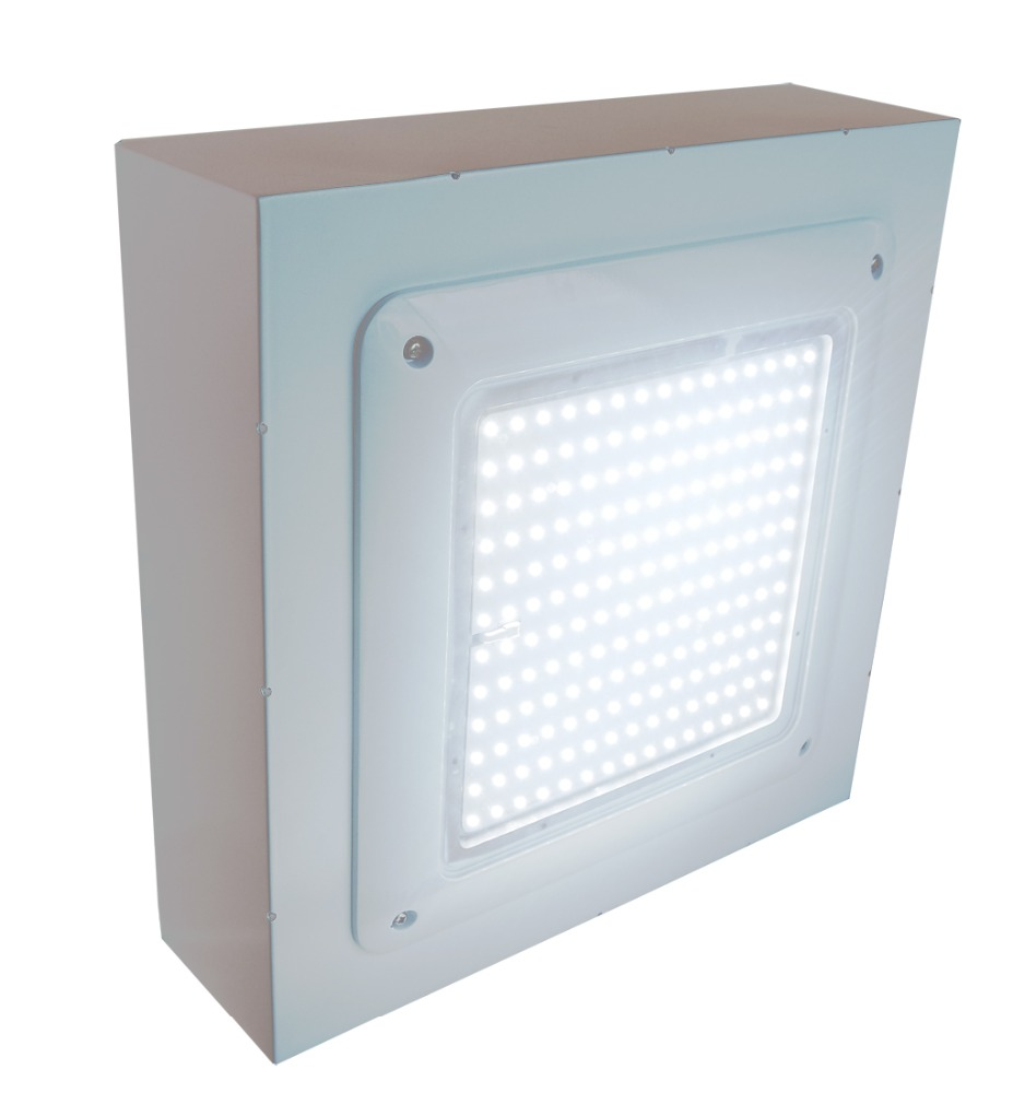 150 watt led canopy light used gas station canopy for sale, surface mounted and recessed led lights