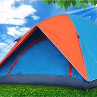 China Supply Double Layers Double Door Tent For Sale