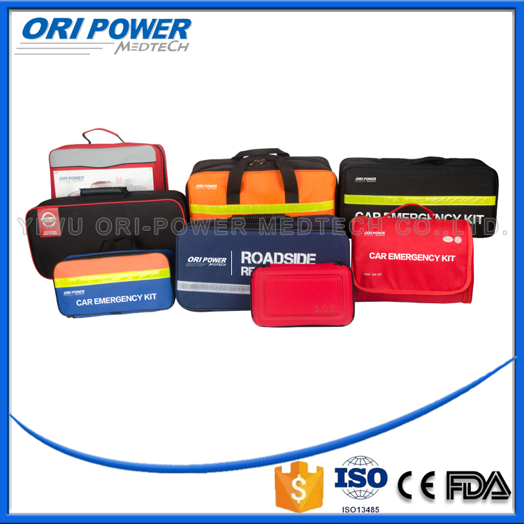 OP CE FDA ISO approved wholesale roadside vehicle automobile first aid kit