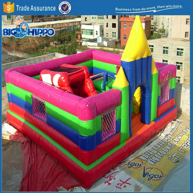 castle of oz bouncy castle house jumper moon bounce Colorful Inflatable Amusement Fun Park