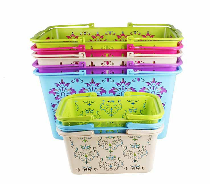 plastic injection shopping basket mould