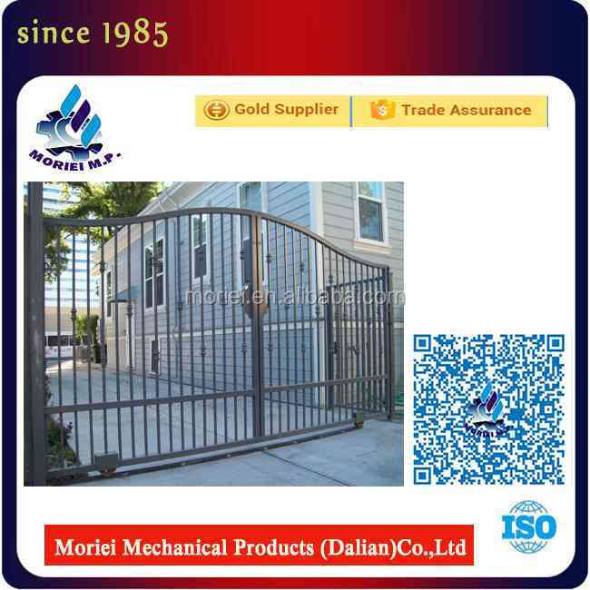 Heat treated Double hung windows sliding Iron gate design simple