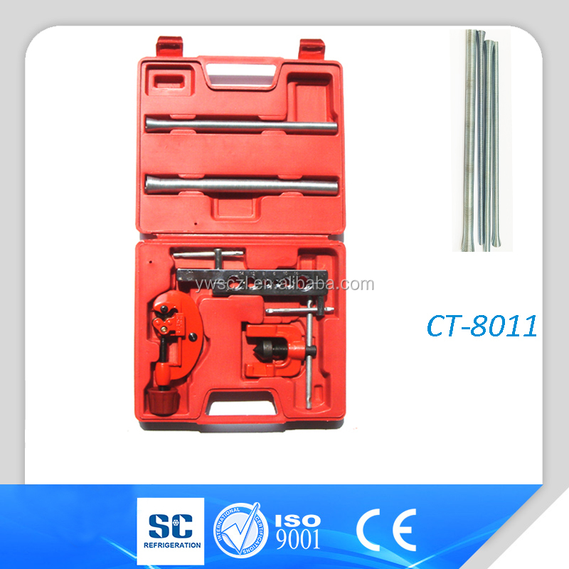 Red case Hand refrigeration tools flaring tools kit CT-8011