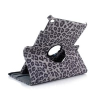 Ultra thin Flip Pu Leather 360 Degree Rotating Case For iPad Air 2 Sexy Leopard Stand Cases