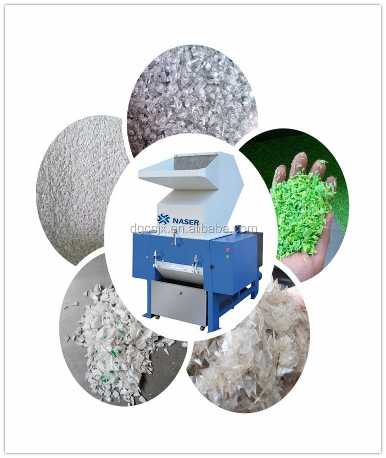 CE plastic shredder/bubble wrap film crusher made in China