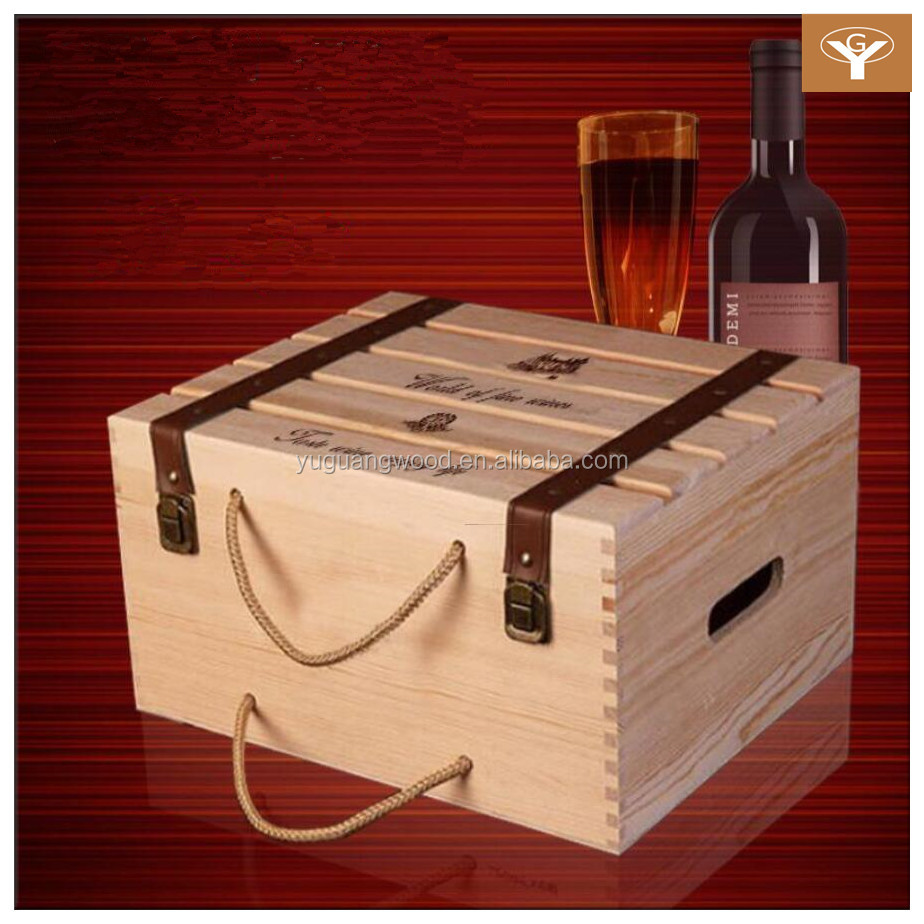 -made Six Wine Crates Wooden Wholesale Wine Case - Buy Wholesale Wine ...