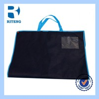 new products cheap reusable non woven hot pressing shopping bags/ handbags from China