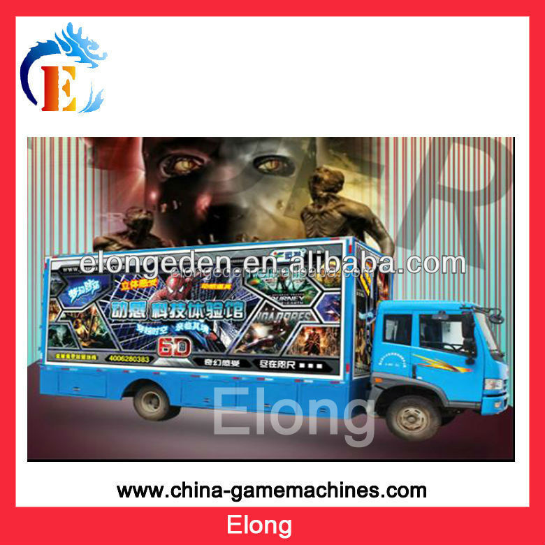 Hot sale! 5D cinema amusement park equipments game machine