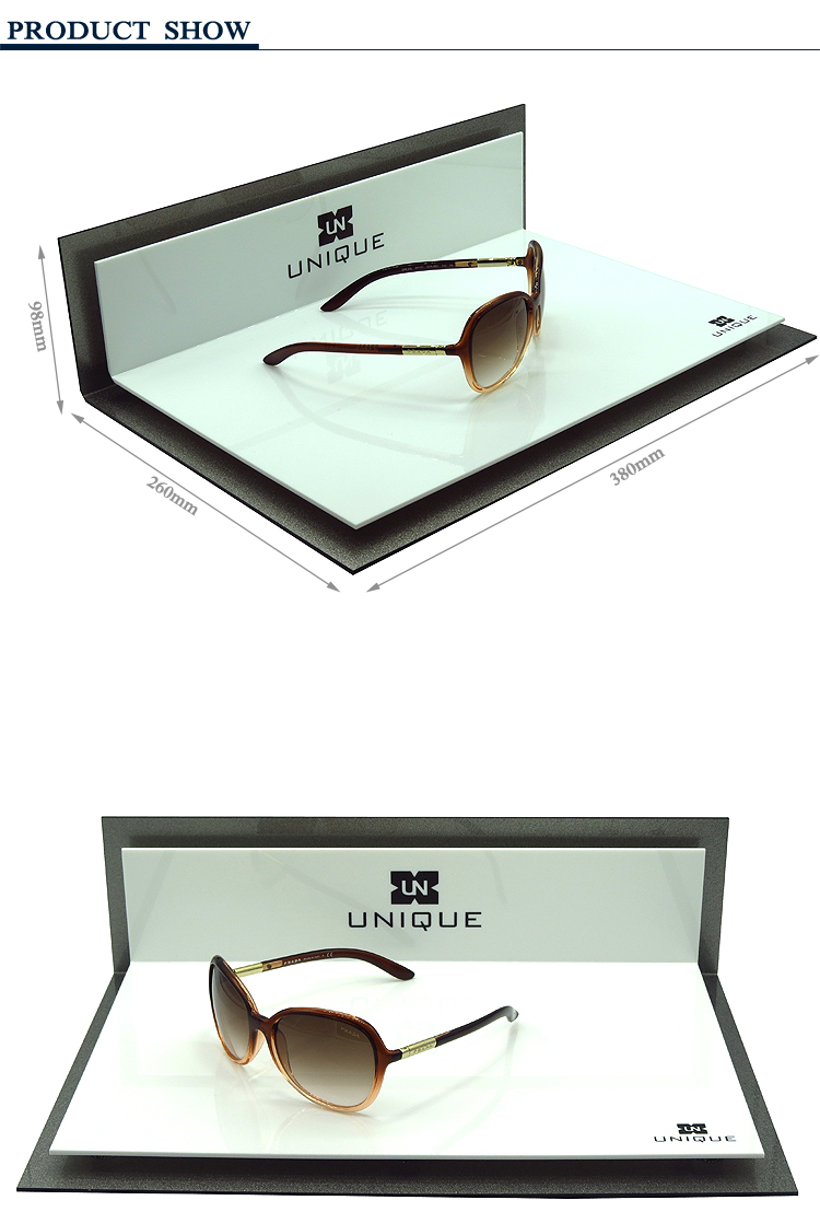 Custom Optical Shop Eyewear Stand Acrylic Sunglass Display