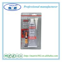 High Temperature Resistant Flexible Aluminium Tube Packed 85g Grey RTV Silicone Sealant