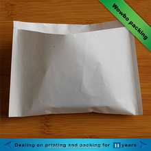 White coated paper fried chicken/chips/french fries packaging bag