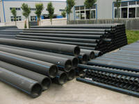 Large diameter Non-toxic tube, polyethylene plastic pipe for water/gas supply