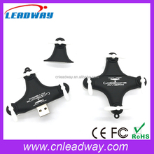 Remote Control Drone Shaped USB 2.0 Flash Drive with Free Custom Logo