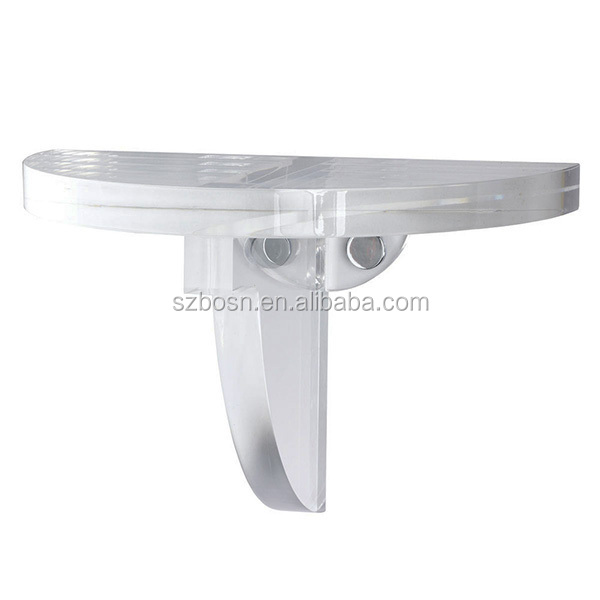 Durable Transparent Acrylic Floating Bracket For Sale