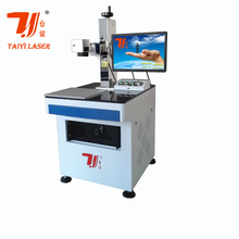Plastic Machinery Laser Print Plastic Sheet, Laser Marking Machine For Plastic Parts
