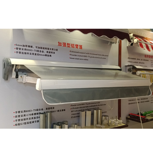 Rain protection for windows Outside Automatic Folding Arm Awning with Tubular Motor for the Garden outdoor sun shade