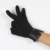 Black touch screen texting custom cheap winter gloves for smartphone