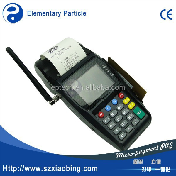 EP T260 Low price handheld electronic billing machine for supermarket with thermal printer, GPRS