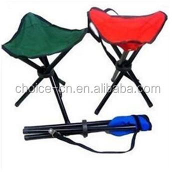 Portable Finishing Chair Tripod Seat Oxford Cloth Outdoor