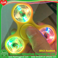 Clear LED Spinner Toys Factory Customized