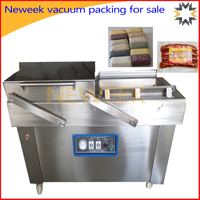 Neweek hot sale single or double chamber vegetable vacuum packing for sale