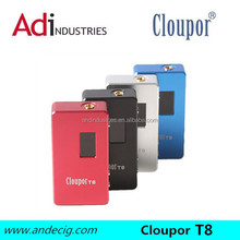 2014 new product 150w mod hot selling cloupor T8 mod electronic cigarette