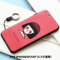 citycase decorated sublimation mobile phone cover for iPhone6/6s, mobile phone cover case for iPhone 6plus