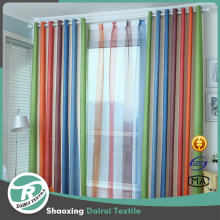 Colorful best selling sheer window curtain for Christmas