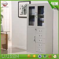 Professional factory supply office furniture swing door metal office filing cabinet with drawer