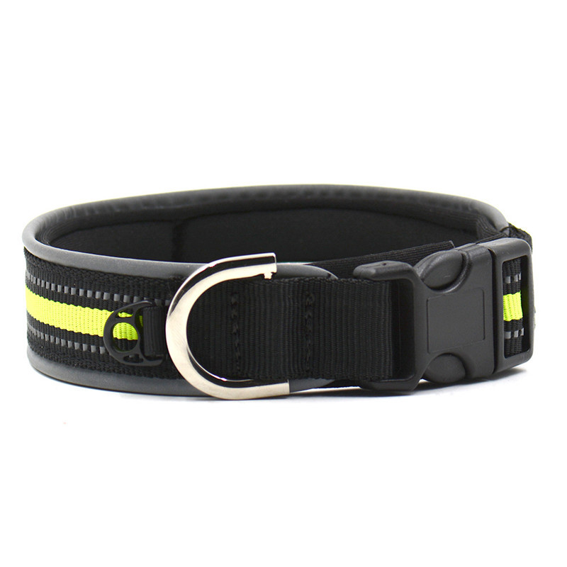 Hot Sale Outdoor Light Reflective Puppy Collar Nylon Pet Cat Dog Collar Adjust Reflecting