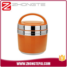 Colorful stainless steel tiffin box Apple shape Leakproof thermos lunch box