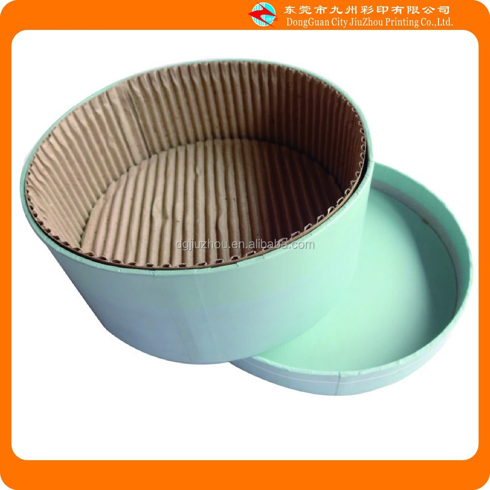 Wholesale corrugated cylindrical waxed cardboard paper box