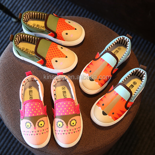 KS40381S New arrival cartoon design hot sell kids vietname shoes
