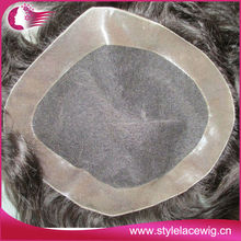 Wholesale 6inch french lace hair wigs for men