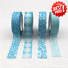 Used in scrapbook and hand-made DIY decoration washy tape