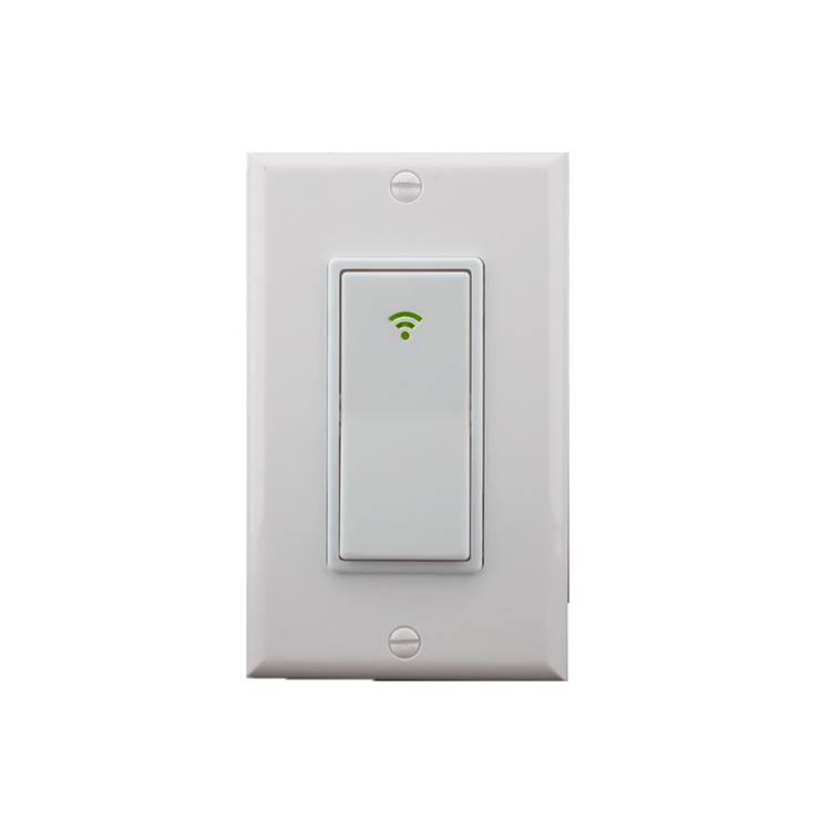 US Standard Wifi Controlled Light Button <strong>Switch</strong> for Alexa Home Automation