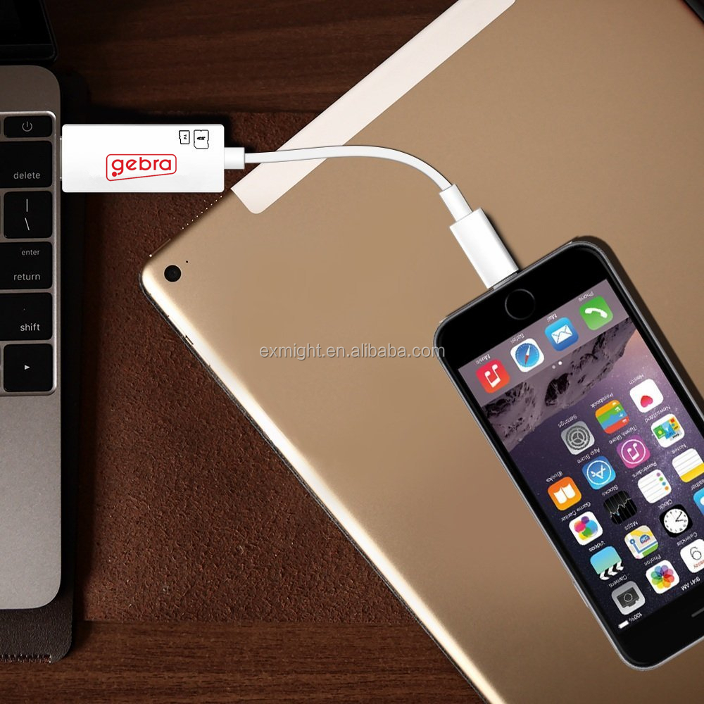 Personalized Design USB C to mini displayport Card Reader for iPhone ipad ipod